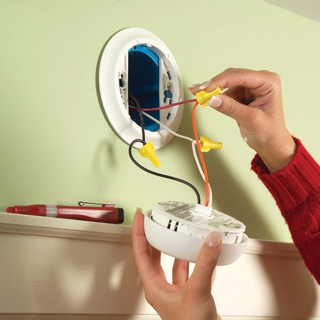 install new hard wired or battery powered smoke alarms the install new hard wired or battery powered smoke alarms