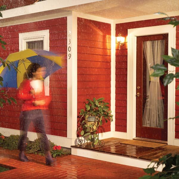 Cutting and installing plastic trim the family handyman - Flexible exterior paint ideas ...