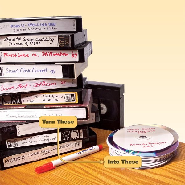 How to Convert Videotapes to DVDs | The Family Handyman