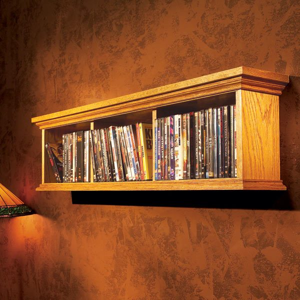 DVD Wall Cabinet
