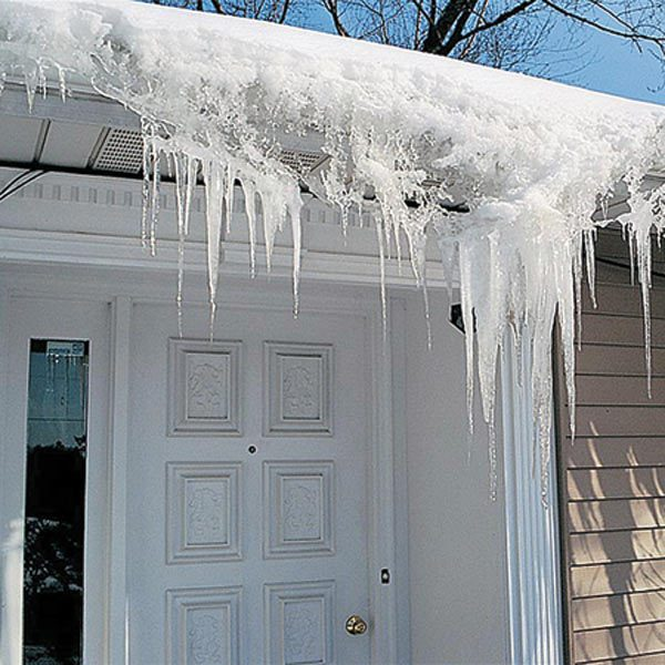 How To Prevent Ice Dams With Deicing Cables The Family