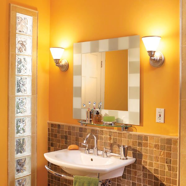 How To Install A Mirror In Bathroom: How To Remodel Your Bathroom Without Destroying It