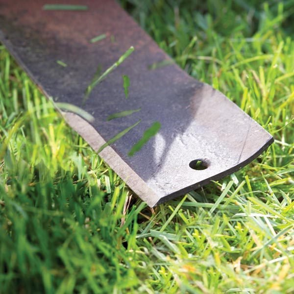 Lawn Mower Blade Sharpening The Family Handyman