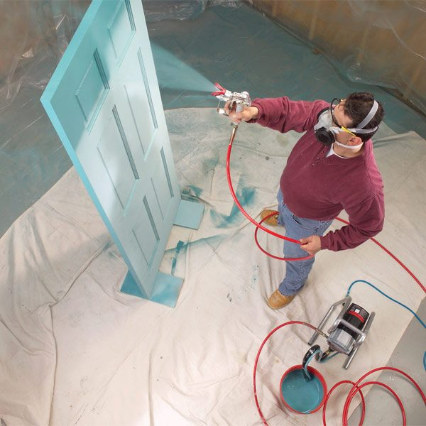 Painting With An Airless Sprayer The Family Handyman