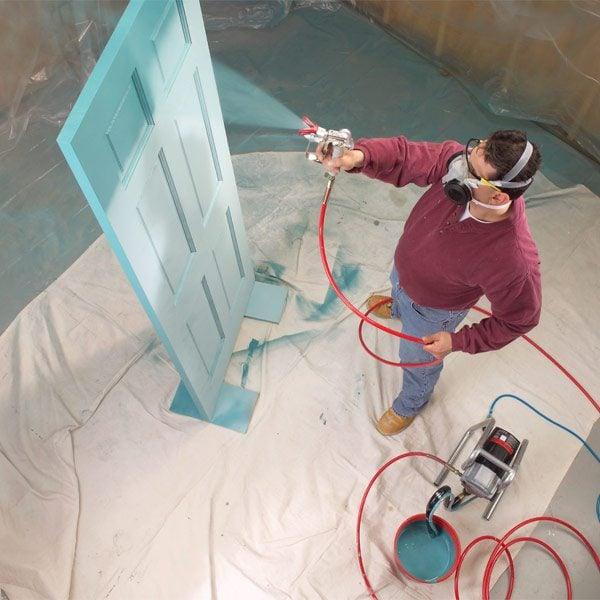 Diy house painting spray gun