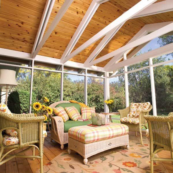 Do It Yourself Home Design: Screen Porch Construction