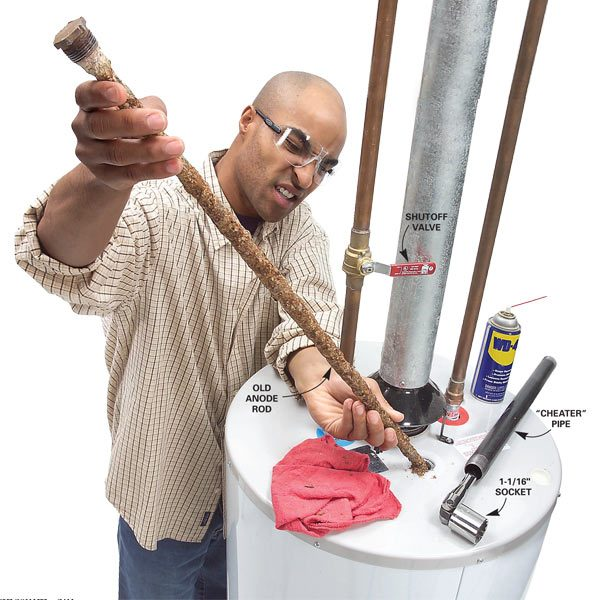 Extend The Life Of Your Water Heater By Replacing The