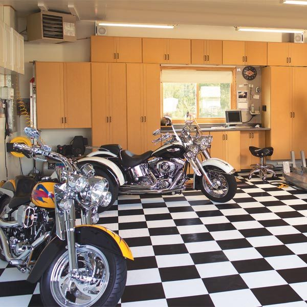 A Dream Motorcycle Workshop The Family Handyman