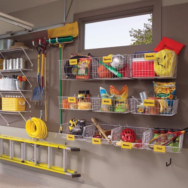 Diy tips for your garage the family handyman for Diy garage shop