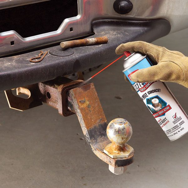 how to clean rusted contacts