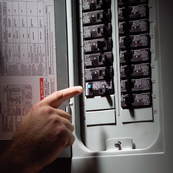 Fix A Sensitive Arc Fault Circuit Breaker The Family