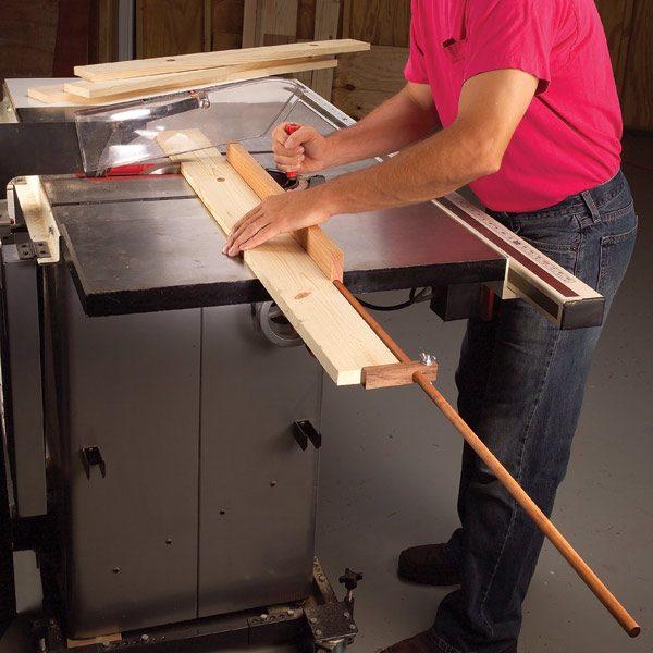 Make An Outrigger Stop Block The Family Handyman