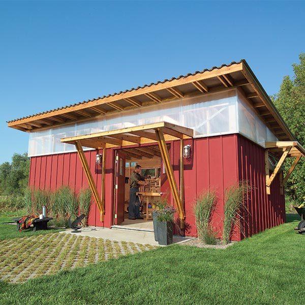 Red hot workshop the family handyman for Garden workshop designs