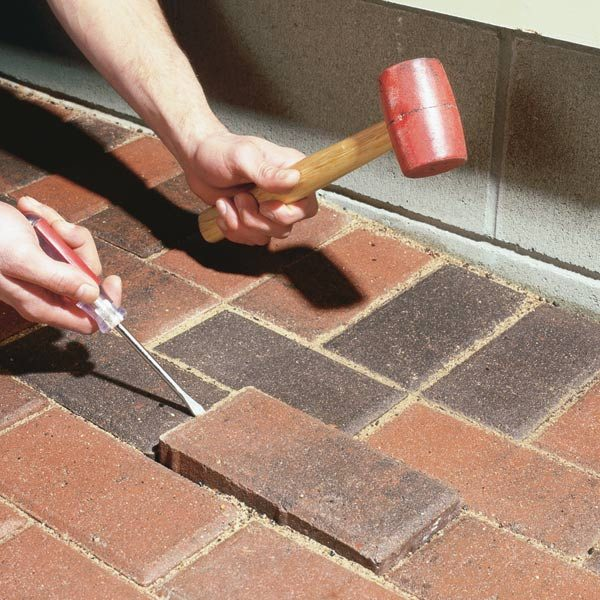Raising Patio Pavers The Family Handyman