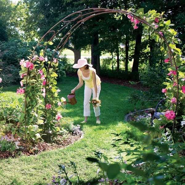 How To Build A Garden Trellis Archway