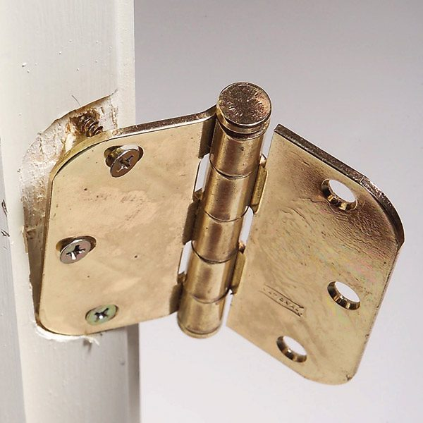 How To Fix Hinge Screws The Family Handyman