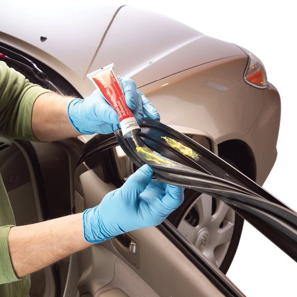 Repairing And Maintaining Car Door Weather Stripping The