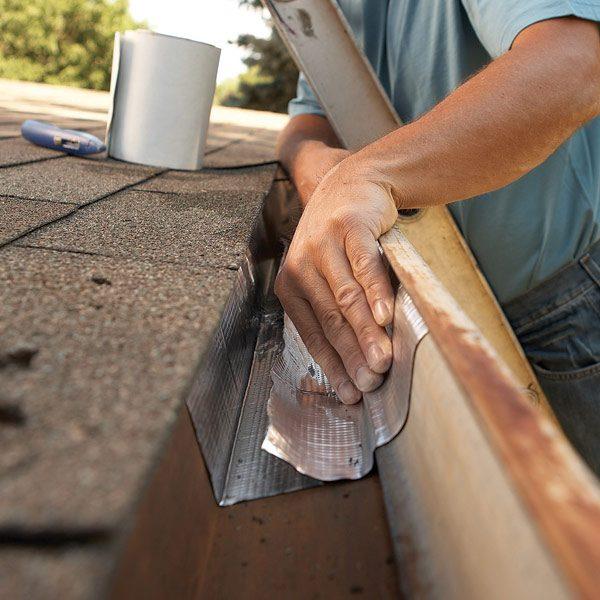 Gutter Repair: Fix Leaky Metal Gutters