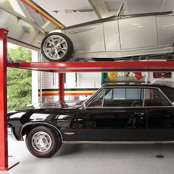 Dream Garage: Double-Decker Car Storage