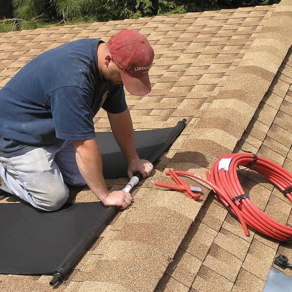 Diy Solar Water Heating The Family Handyman