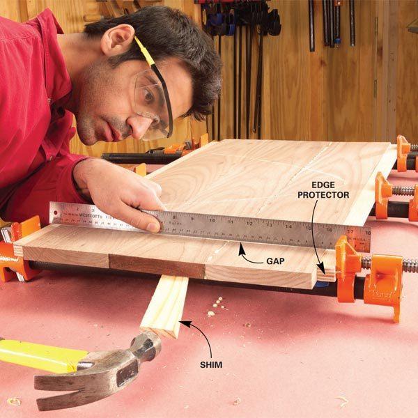 Edge Gluing Boards The Family Handyman