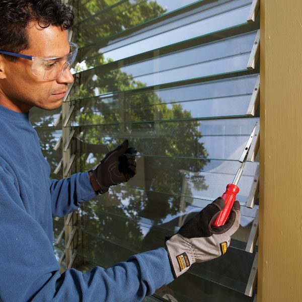 How To Repair Jalousie Windows The Family Handyman