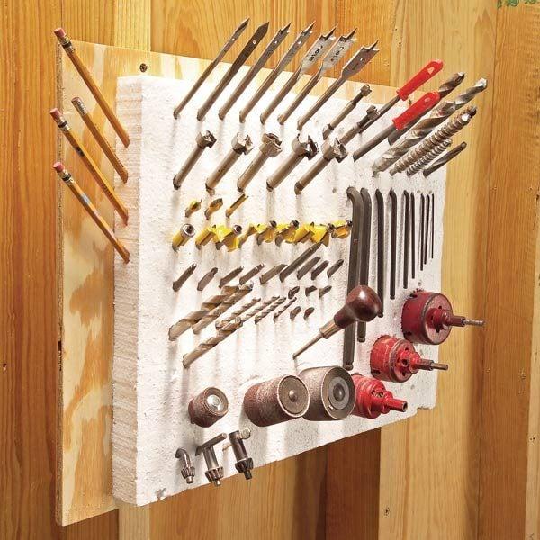 Tool Storage Ideas