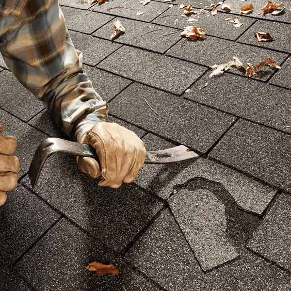 Easy Shingle Repair The Family Handyman