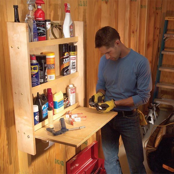 Storing And Organizing Car Care Products The Family Handyman