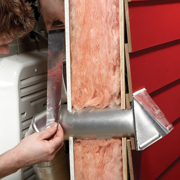 Replace A Broken Dryer Vent Cap The Family Handyman