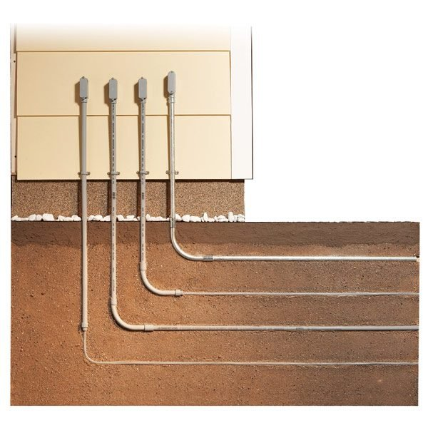 How To Install Underground Electrical Wiring - Solidfonts