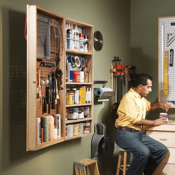Diy Tool Storage Cabinet: The Family Handyman