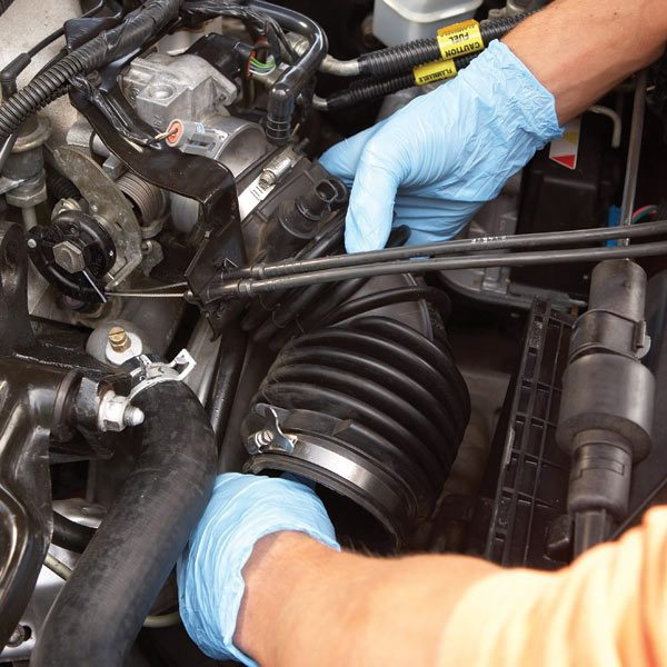 Cleaning A Throttle Body