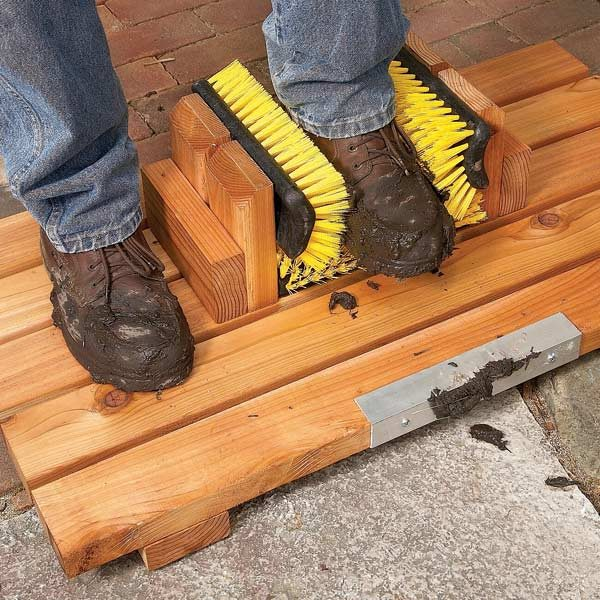Mud Busting Boot Scrape The Family Handyman