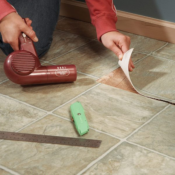 Repair Vinyl Flooring Patch Damaged Flooring The Family