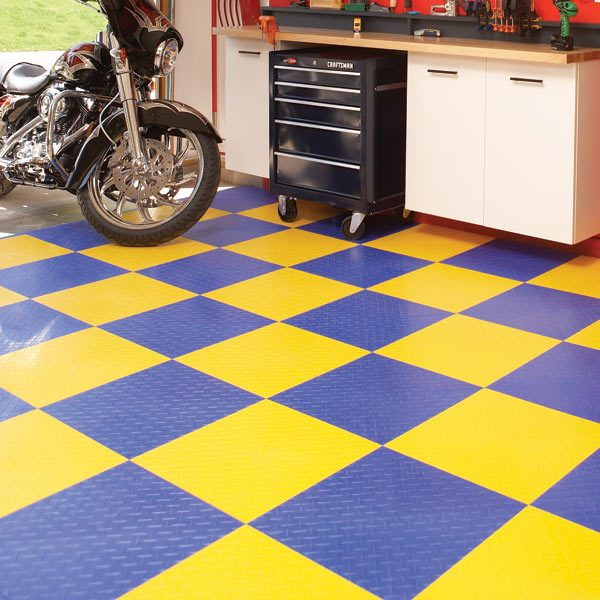 Garage flooring options the family handyman for How to build a garage floor