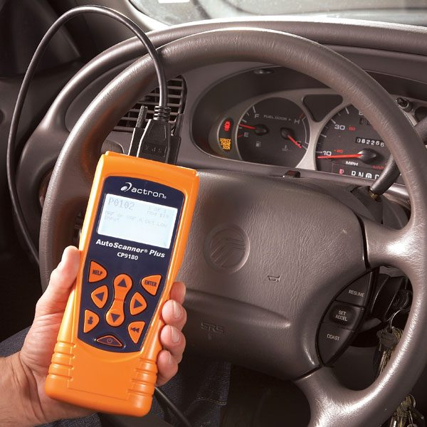 using a vehicle diagnostic code reader the family handyman. Black Bedroom Furniture Sets. Home Design Ideas