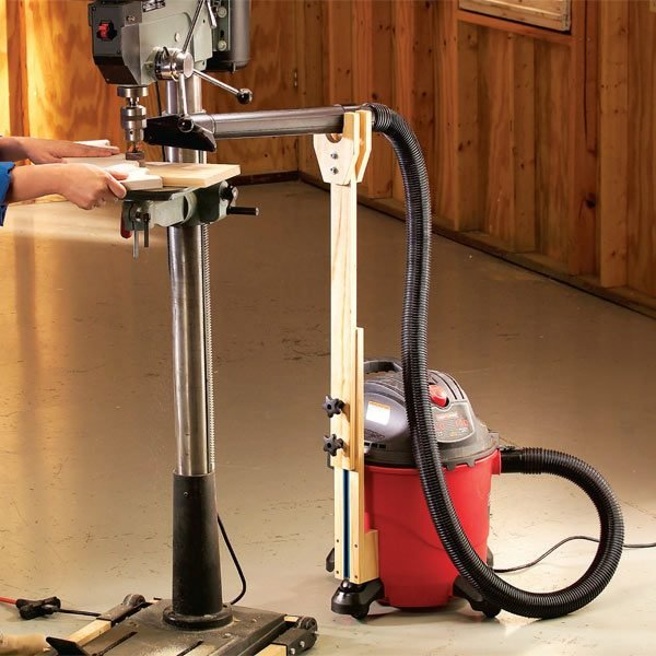 Vacuum Attachment For Adjustable Dust Control The Family