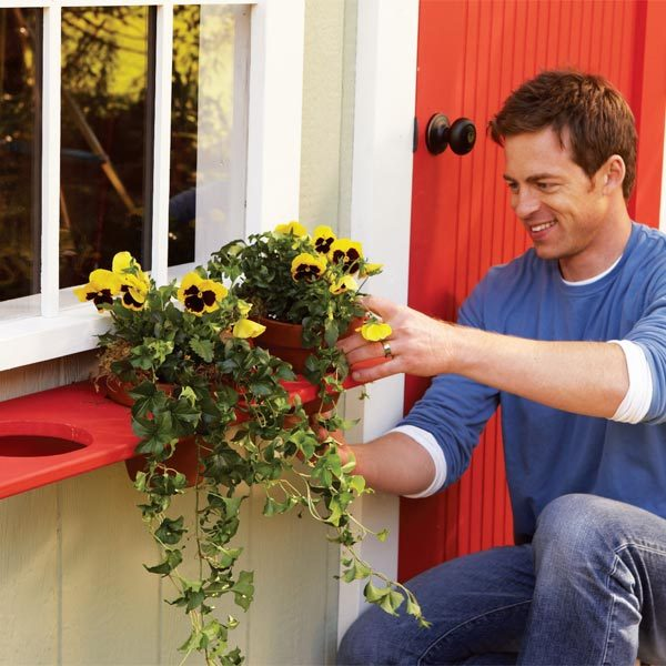 DIY Window Planter Boxes