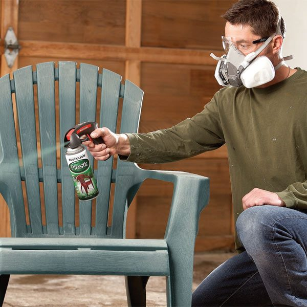 safe and healthy spray painting tips the family handyman. Black Bedroom Furniture Sets. Home Design Ideas
