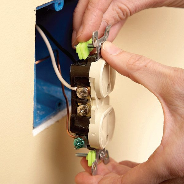 Repair Electrical Outlets Fix Loose Outlets The Family