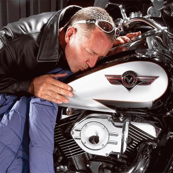 Winter Motorcycle Maintenance