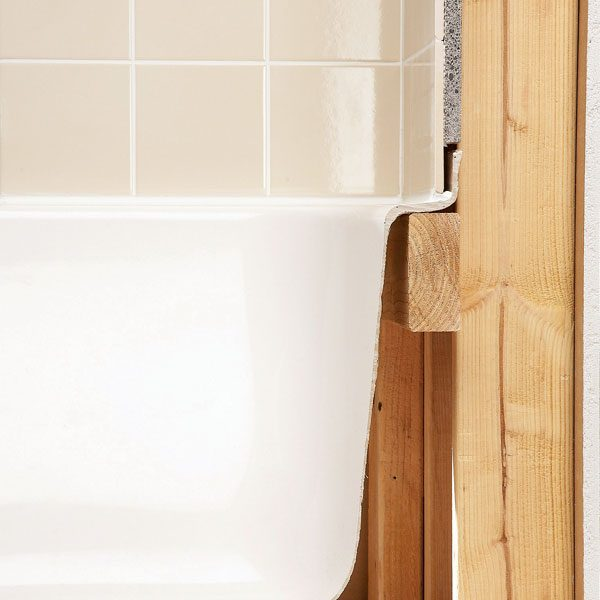 Installing Bathroom Tile Over Drywall : Tile installation backer board around a bathtub the