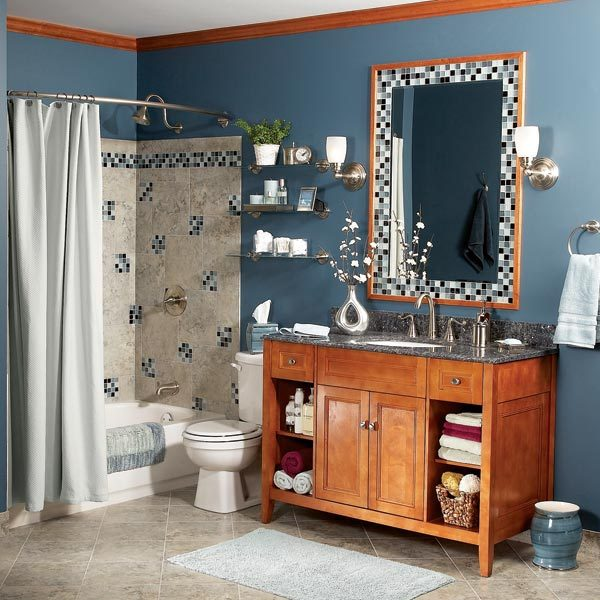 Bathroom makeover on a budget the family handyman for Show me pictures of remodeled bathrooms