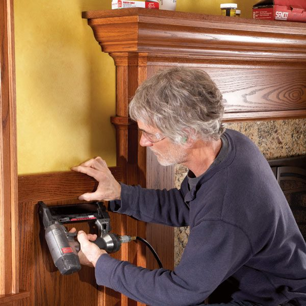 How To Install Wood Molding The Family Handyman