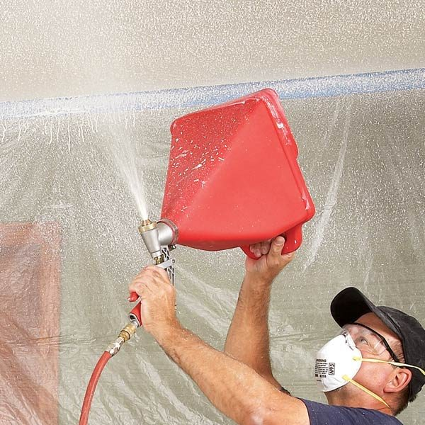 Textured Ceiling Repair Tips The Family Handyman