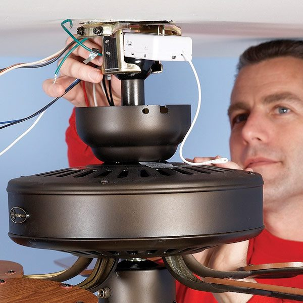 Ceiling fan install problems ceiling tiles ceiling repair the family handyman luxury ceiling fan aloadofball Images