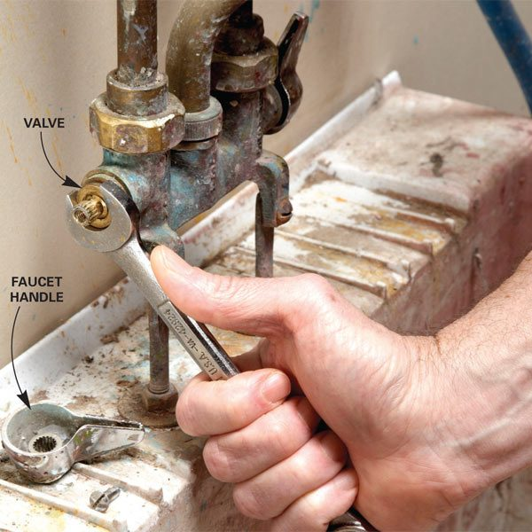 Fix a Leaking Faucet | The Family Handyman