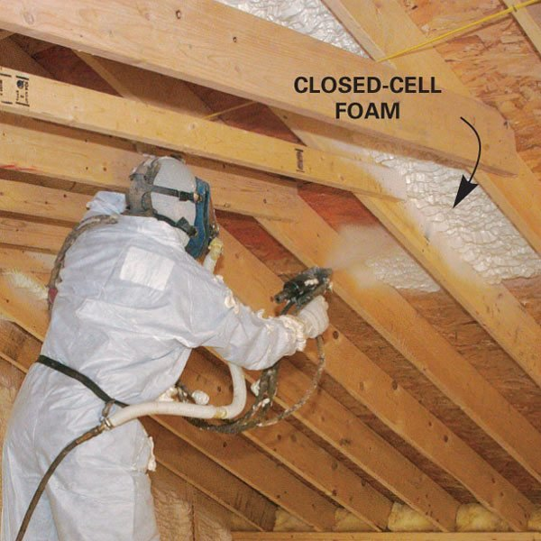 Cathedral Ceiling Insulation The Family Handyman