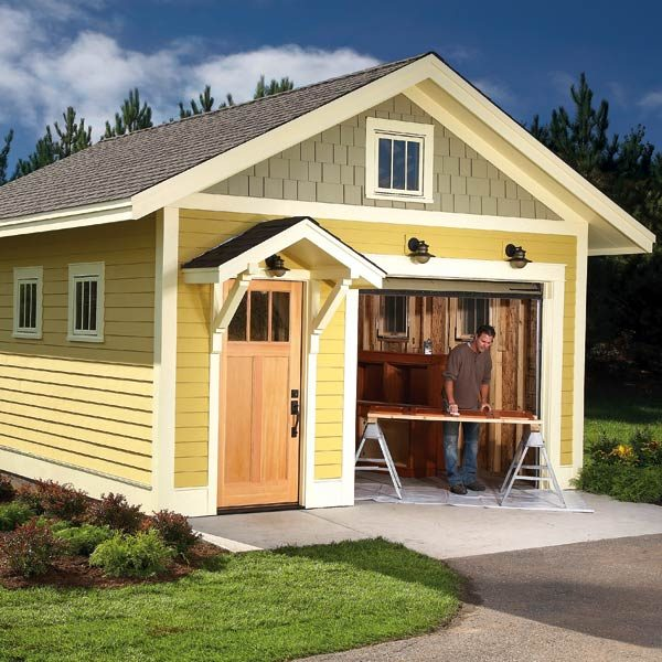 Backyard Storage Shed Ideas best 10 storage shed organization ideas on pinterest garden tool organization tool shed organizing and shed Garden Design With Shed Plans Storage Shed Plans The Family Handyman With Small Front Yard